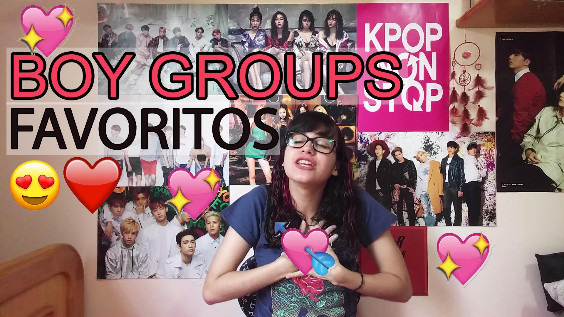 TOP 11 Boy Groups preferidos + indicações